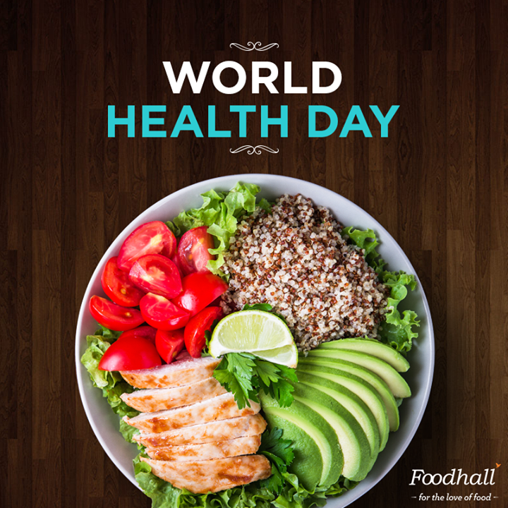 Eat clean & say hello to a healthier & happier you. #WorldHealthDay