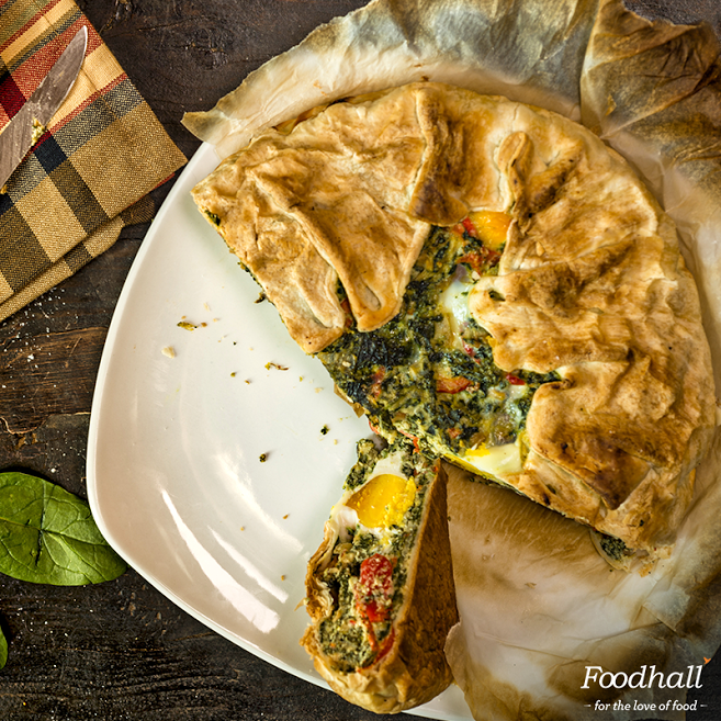 Bring your family together & dig into a hearty Torta Pascualina – an Argentinian savoury pie made with spinach, nutmeg & ricotta!   Pre-book your order with Party Chef by Foodhall for an easy Easter dinner.