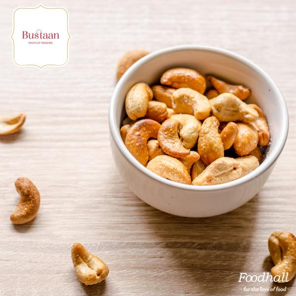 We're going nuts about today's game – no, really! We have traded out unhealthy #snacks for nuts in lip-smacking, all-natural flavours from Bustaan – you'll be spoilt for choice! For those of you wondering, here are our latest additions:  1.Honey Oregano Cashews 2.Salted Caramel Almonds 3.Saffron Honey Cashews 4.Cinnamon Caramel Macademia 5.Lemon Honey Almonds