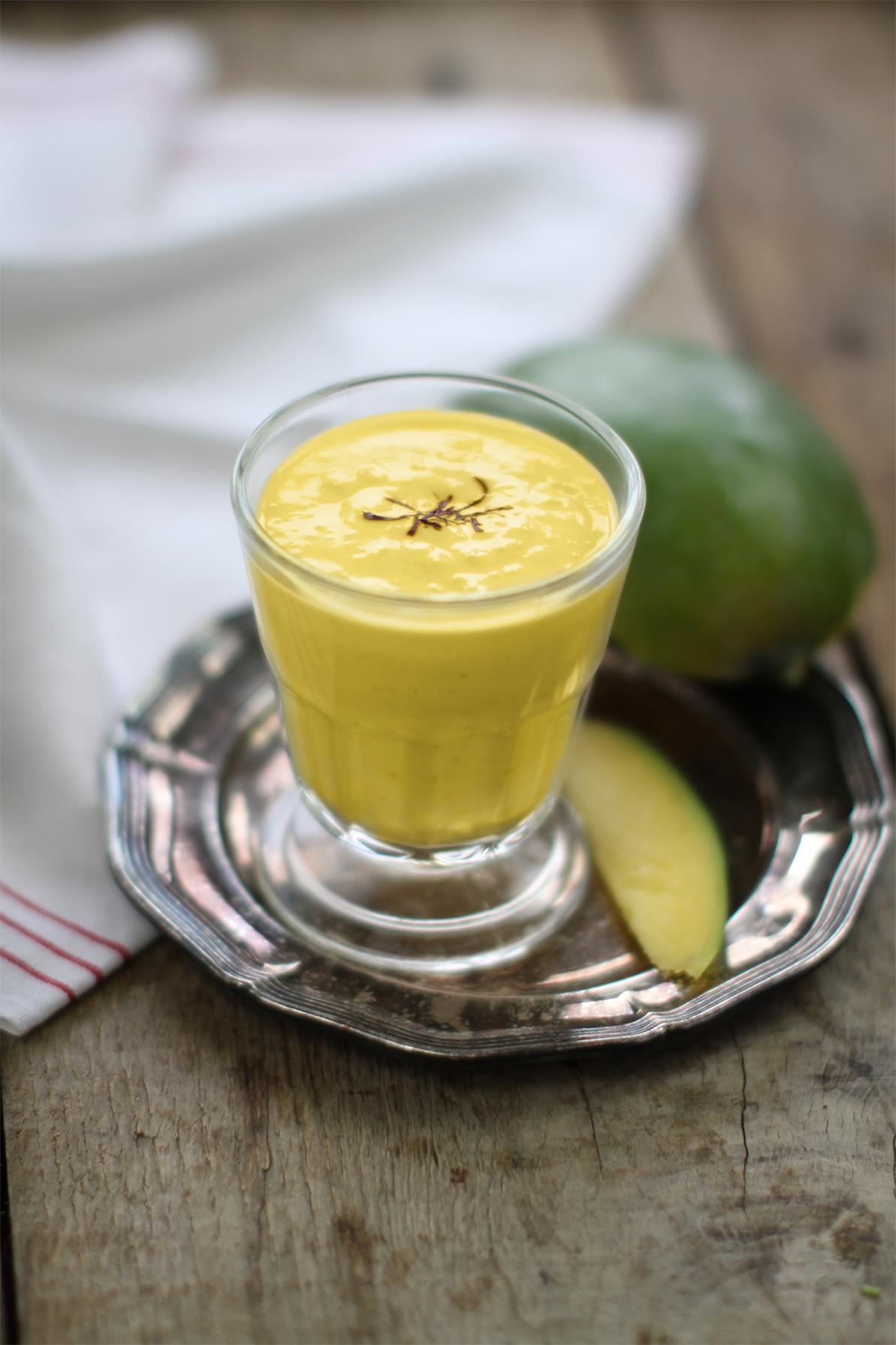 Enjoy the seasonal mango with a fun twist! Chef Hari Ghotra shares her interesting take on the ever-so-popular Mango Lassi. Here's the link to this recipe.
