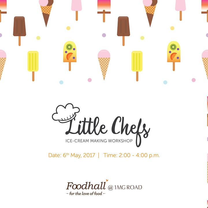 #Summer is here - let kids #BeatTheHeat with #icecream! Get your little ones to Foodhall @ 1MG, Bengaluru & let them make their own!  They can choose from different flavours, toppings & whip up the perfect tub of joy for themselves. Are you as excited as we are? 🙂