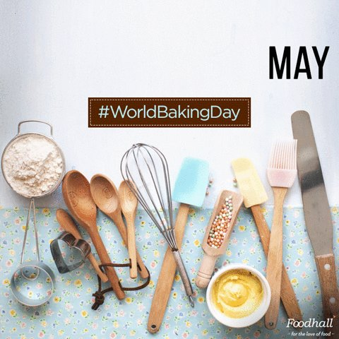 #WorldBakingDay is here, where are you? Join us today for an exclusive masterclass across all our stores! And in case you cant make it, follow us on Instagram stories to catch all the action live!