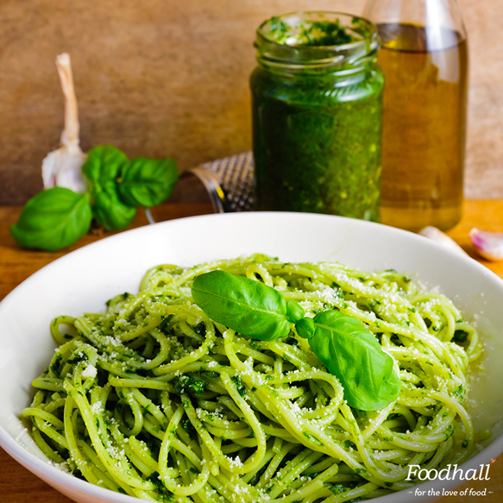 It's game season & we don't want you to miss out on the action! Make #dinner in a jiffy with fresh #pesto & handmade #pasta from our stores.