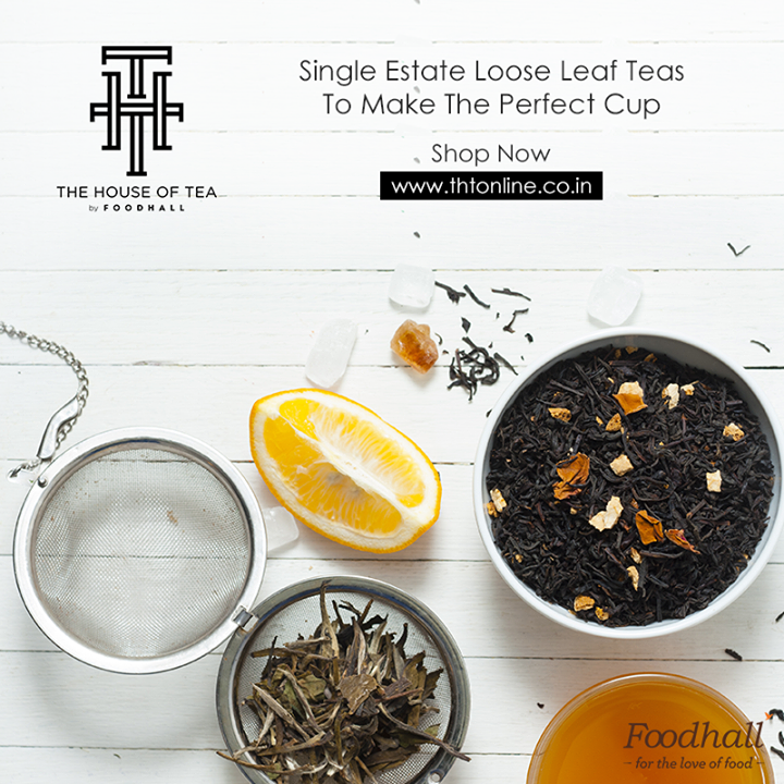 Handpicked & hand-delivered, just for you.  Explore our exquisite collection of loose leaf teas by The House of Tea by Foodhall - now available at www.thtonline.co.in