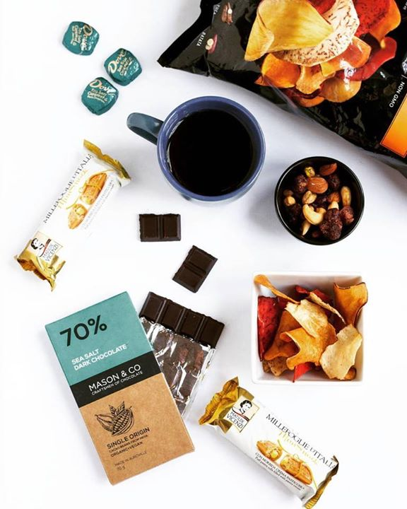 Take coffee breaks beyond coffee, just like The FoodPorn Diaries. Find the perfect match for your cuppa during your next visit to our stores. Explore our aisles for chocolates, vegetable chips, mixed nuts, fine pastries and more.  What do you like best with your coffee?