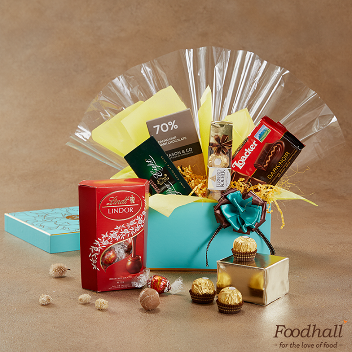 Chocolates make everything better – even #RakshaBandhan. Surprise your sister with the best #chocolates put together in an exquisite hamper. Visit a Foodhall store near you to explore Blue Ribbon Gifting.