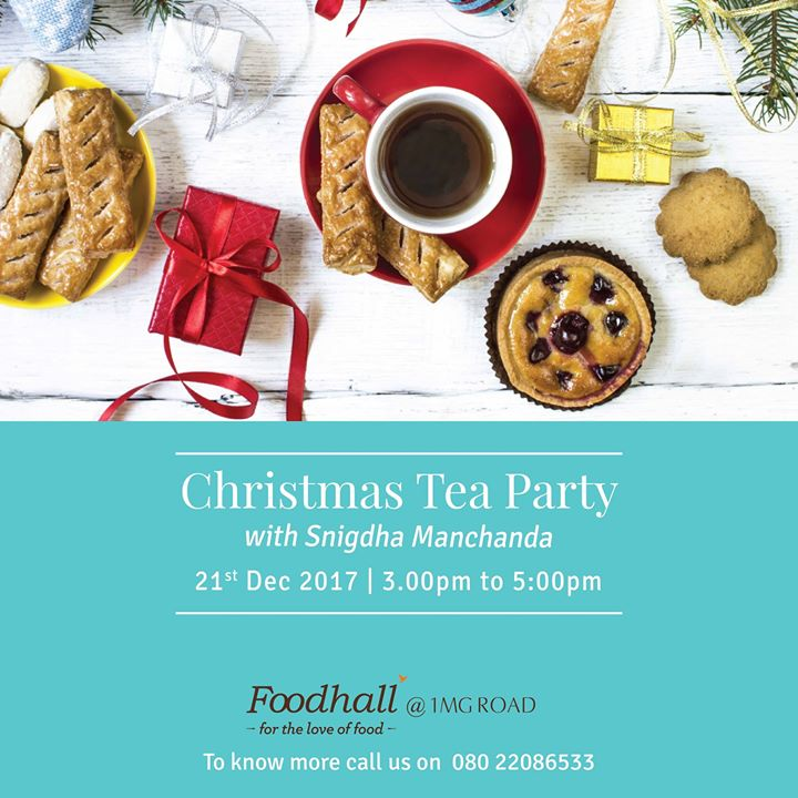 The weather is getting cooler and we have something warm coming up for you. Come join us for an evening of festive teas and snacks as our tea expert Snigdha Manchanda dishes out ways of understanding your cup of tea.  Only at Foodhall@1MG Bengaluru on 20th December, 3 pm to 5 pm. To know RSVP, call us on 080 22086533