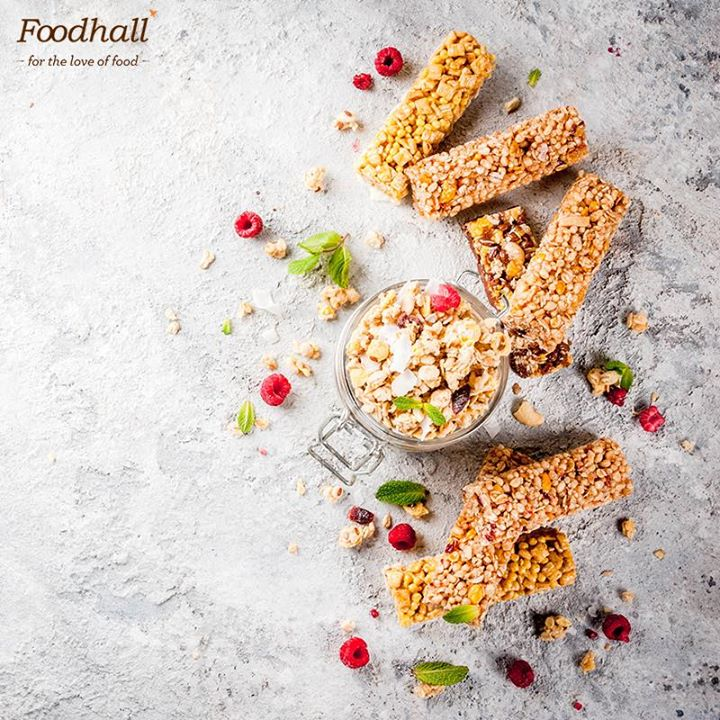 Begin your day right, by giving your body an energy packed start. Foodhall brings to you a whole new range of enticing energy bars available at the Breakfast Cereals Zone at all Foodhall stores.