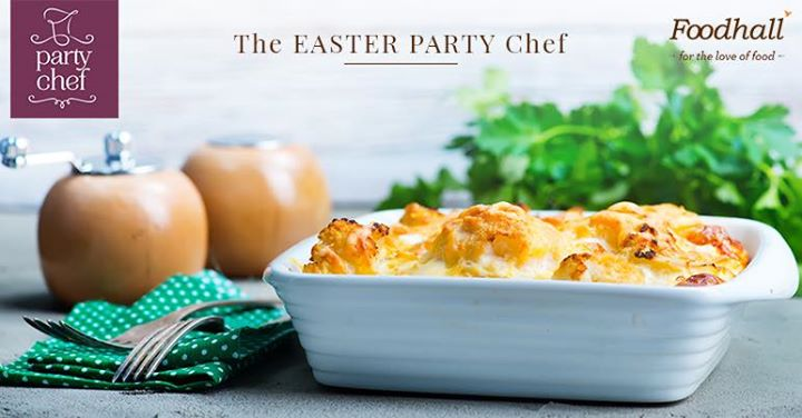 Let us make your #Easter unforgettable. Order now from our special Easter Party Chef menu and celebrate this special day with everyone. Consult our Party Chef experts to know more.