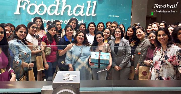 It was an unmissable, gastronomic tour with Buon Cibo by Vandana that left these students' minds brimming with ideas on how they could pair their cheese, spruce up their salads and make magic with chocolate at Foodhall@MKT, The Chanakya, Chanakyapuri.