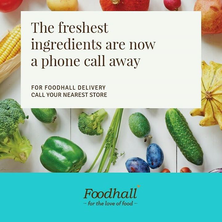 Yes, we heard you! Now bringing the highest quality ingredients from around the world, straight to your doorstep.   Click on the link to know more: http://bit.ly/FoodhallHomeDelivery