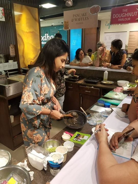 We learned some creative recipes with Karishma Sakhrani as she played with flavours and created magic at our store.