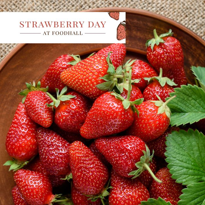 You can always find a reason to eat more strawberries but our top picks are: they are rich in antioxidants, they are good for your heart and they boost your immune system. How are you eating your strawberries today? Get the juiciest strawberries from the nearest Foodhall.