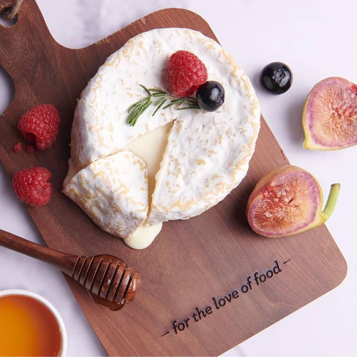 Moist, creamy and soft, this cheese was first made in Camembert, Normandy. The rich flavours of this cheese go perfectly well with fresh figs, pecans and hazelnuts.  Build your cheese board with Camembert at your nearest Foodhall store.   #foodhallindia #fortheloveoffood  #camembertcheese  #cheesepairing