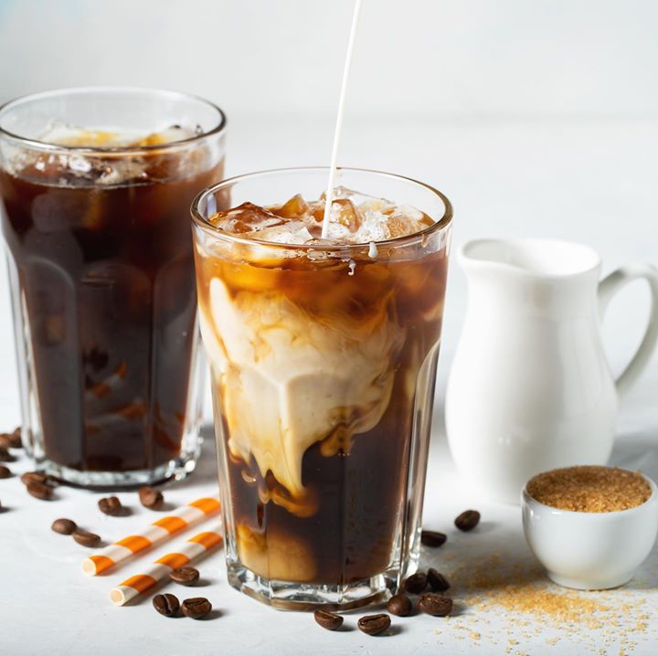Start your Sunday on a tropical note with our #Thai iced coffees. A full bodied brew poured over ice and gently sweetened with a dollop of condensed milk, one sip of this summer cooler is sure to transport you to the thriving hum of Thailand. Brewed fresh for you, enjoy this tall glass of sunshine at @kcroasters and @kaffacerrado at Foodhall all day, everyday!   #FoodhallIndia #ForTheLoveOfFood #ForTheLoveOfCoffee #Coffee