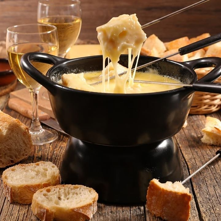 Up the ante for your next family dinner, with a communal #fondue feast! We have everything you need to cook up this staple Swiss dish at home, from caste-iron pots to the perfect cheeses and rustic bread for dipping! For those with a #sweettooth, we even have a chocolate fondue set, with heaps of sweet trimmings!  All you need to do is gather your friends and family to share the warming thrills of fondue!  #Fondue #ForTheLoveOfFood #FoodhallIndia #FamilyDinner #ComfortFood