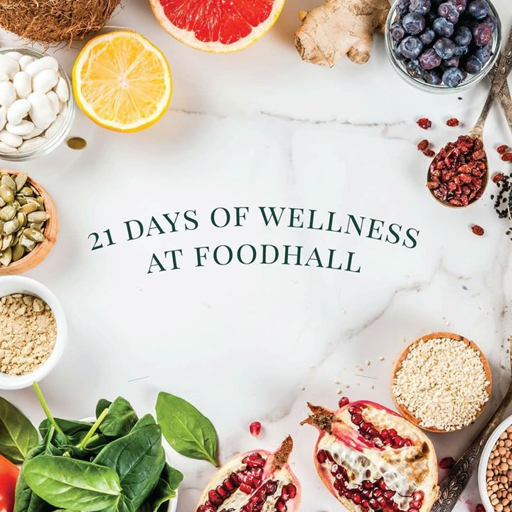 This August, take our #21DayWellnessChallenge.   Choose a  #superfood to add to your diet and commit to eating it for 21 days to transform it into a good habit! Look out for our #WellnessBoard in store for daily inspiration for these small but sustainable steps towards a healthier lifestyle.   Visit a #Foodhall near you to discover more!   #WellnessChallenge #FoodhallIndia #GoodHabits #HealthyLiving #HealthyEating