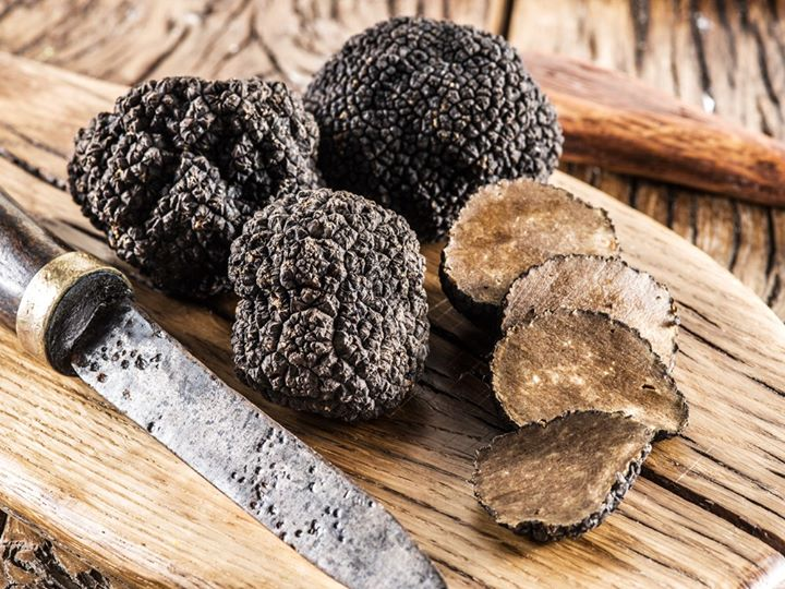 #FoodhallLoves: Black Truffles!  Essentially mushrooms that have evolved to grow underground, truffles are notoriously hard to find in the wild and remain highly sought-after for their umami-rich notes, overpowering scent and earthy overtones.  Very much an acquired taste, there are oh-so-many ways to bask in the potent flavours of truffles from adding delicately-shaved slivers over a buttery tagliatelle to whipping up a terrifically-truffled tapenade to slather on crostinis!  Pre-order your seasonal fix of fresh black truffles at a Foodhall near you, where you'll also find our aisles stocked with every craveable form of truffles. Think truffle mustard, truffle honey, truffle salt and even truffle chilli!   #ForTheLoveofTruffles #FoodhallIndia #BlackTruffles #TruffleLovers #Truffles #TruffleSeason #TruffleHoney #TruffleMustard #TruffleSalt #TruffleChilli