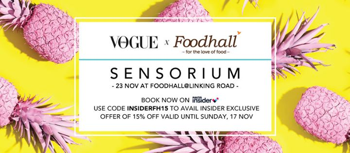 Book your tickets here: bit.ly/Sensorium_BookNow