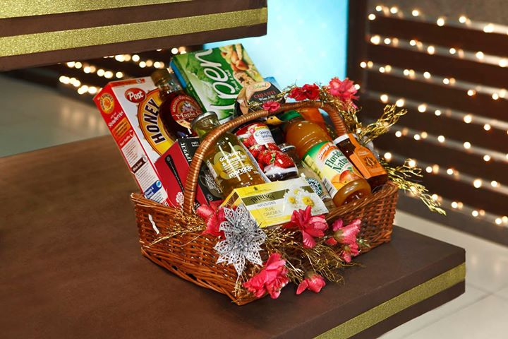 On the first day of Diwali, we gift you a basket full of good health.