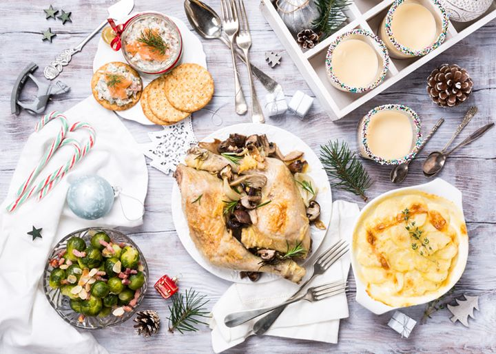 Planning your Christmas Day feast? Why not let Party Chef (our bespoke catering service) take care of all the festive essentials with our repertoire of Christmas classics, enriched by a dash of modern flair.  Plump for our Herb Roasted Stuffed Turkey with Wild Mushroom Gravy, or revel in the contrasting flavours of Maple Chilli Spatchcock Chicken, spiced with piri piri. There's plenty on the menu for vegans and vegetarians too, from Shepherd's Pie to a Flourless Pesto Lasagna, layered with chargrilled veggies.  Of course, star billing goes to our selection of sides such as Caramelised Brussel Sprouts and a Duet of Roasted Cauliflower & Broccoli, which are bound to add a sumptuous quality to your spread! Finish your feast with a flourish, with the likes of Pumpkin Gingerbread Pie and Plum Cake, elevated by spiced mascarpone, lemon Coulis!  DM us or call on  8095031111 for more details and to place your order, so that all you have to do come Christmas morning is put your feet up, sip on some sherry and croon along to your favourite carols!  #FortheLoveofChristmas #FoodhallIndia #PartyChef #Christmas2019 #ChristmasFeast #CateringService #ChristmasLunch #ChristmasMenu