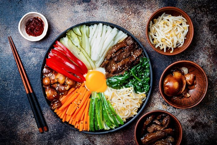 Anyoung haseyo! This month, we're celebrating the unsung hero of Asian cuisines – Korean food!  If you thought #Korean cuisine was all about #barbecue, we're here to show you there's so much more to explore, from fermented flavour-bombs like #Gochujang (a staple chilli paste) to spicy stews, #banchan (shared side dishes) and #bibimbap - a single pot rice dish served up with a medley of veggies and sauces!   Elevate your cooking with  #Korean pantry essentials and take home everything you need to indulge in S(e)oul Food…   #ForTheLoveofKoreanFood, see you at a Foodhall near you!  #FoodhallIndia #KoreanFood #KoreanCuisine #GochujangSauce #KoreanDips