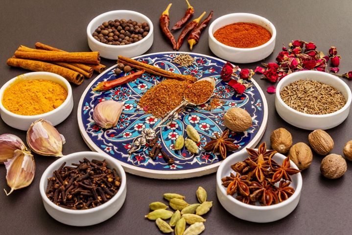 #FoodhallLoves: Ras-el-Hanout  Literally translating to 'top of the shop', Ras-el-Hanout is a classic and complex spice blend from Northern Africa. At #Arqa, we stone-grind this heady melange of 16 traditional spices including peppercorn, paprika, cinnamon, cardamom, nutmeg, allspice, clove, fennel, rose petal and Iranian saffron to name a few  Abundant in Moroccan cuisine and all across the Levant, its potent perfumed character will add instant exoticism to any dish!  Explore the aromatic magic of our Arqa Ras-el-Hanout with a family-sized serving of chickpea stew or use it as a fragrant spice rub for your grilled vegetables!  #FortheLoveoftheLevant, spice up your imagination with the magic of the Middle East at Foodhall near you!   #FoodhallIndia #LevantineSpice #MiddleEasternCooking #NorthAfrica #ExoticSpice #ArqaAyurveda