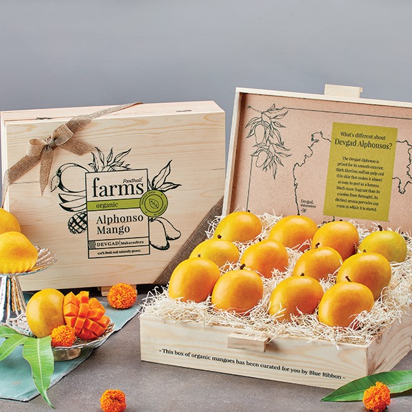 #FoodhallFarms: Summer's a-coming, and you know what that means... Mango season's upon us!   Piled in crates across our fresh produce aisles, take your pick of our ever-delicious crop of the King of fruits -the Alphonso or Hapoos, sourced locally and fresh from Devagad, Ratnagiri and Karnataka...or if you're looking for something rarer still, stroll along our summer stalls featuring Brazilian Kent mangoes and the exotic Thai Yellow mango!   Pro tip: Ask for our luxurious Mango Gift Box featuring premium quality organic farm-fresh Alphonso mangoes. There's no better present than these golden beauties!   #ForTheLoveOfMangoes, pair your summer cart to a juicy start at a Foodhall near you!  #FoodhallIndia #IndianMango #KingofFruits #MangoSeason #MarchMango #MangoHarvest