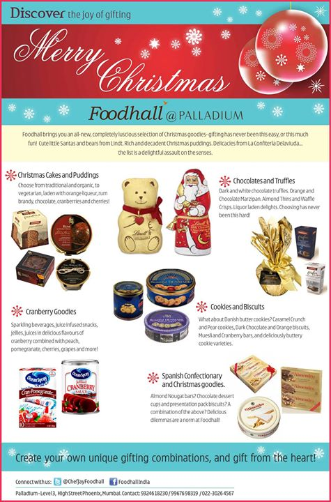 Discover the joy of gifting this Christmas only at Foodhall - PALLADIUM