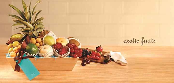 Exotic Fruits  Miss the fruits that you relished while overseas? Not anymore! Put together a bunch of rare-to-find fresh fruits from Foodhall for your friends and family. A thoughtful gift for occasion.  CHOICE OF FRUITS, PACKAGING  Rs. 999 onwards   For more such gifting ideas visit www.foodhallonline.com