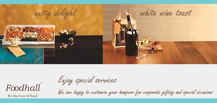 Make special occasions all the more special with Foodhall.
