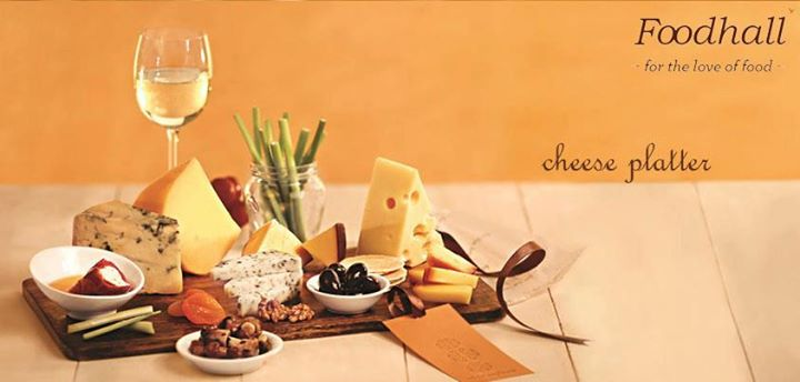 You can never go wrong with a cheese platter at a party!