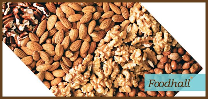 Resolution for the next year: Have 8-10 nuts for breakfast.