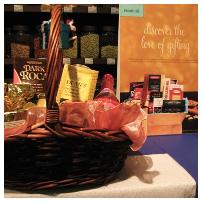 Discover the love of gifting with made to order gift baskets from Foodhall this Christmas!