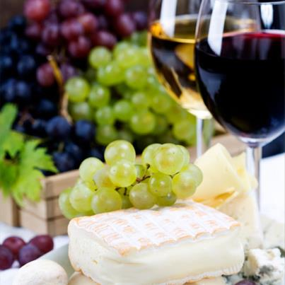 Don't you want to just pluck a grape, slice some cheese and relish them both with red wine? We sure do!