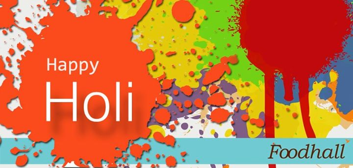 Play with colours, behave like kids, eat pakore, drink litres of thandai, indulge in aloo puri and gulp down kheer. We wish you a colourful and taste-bud tickling Holi! :D