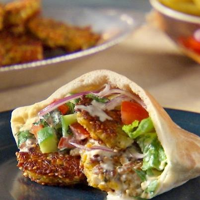 'Like' if you want a bite of this Falafel right now!
