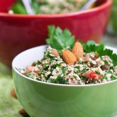Tabbouleh is a salad that has a nice