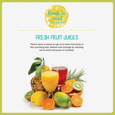 In this scorching heat, fresh fruit juices are going to be your saviour! Trust us.