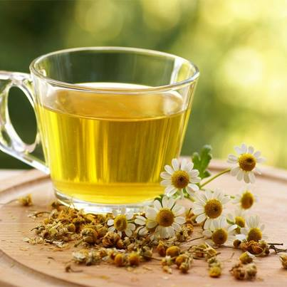 Feel light and refreshed this hot summer season with Chamomile tea.