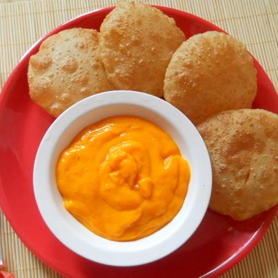 You haven't really enjoyed mangoes if you haven't had a meal of mango ras and puri!