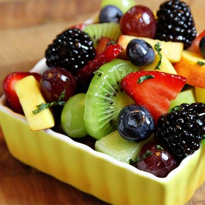 How about a big bowl of fresh fruits and nutritious greens for dinner tonight? Remember, healthy meal = fit you.