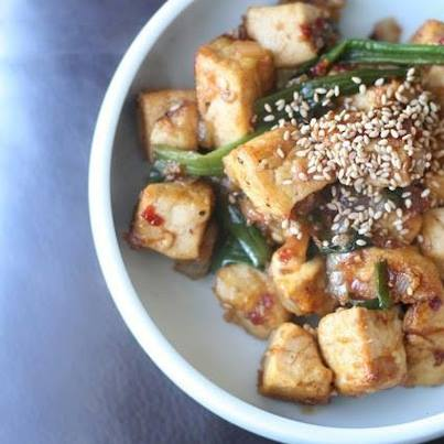 Tofu is a great alternative to paneer. It is light, tasty and goes well with many dishes. Try it!