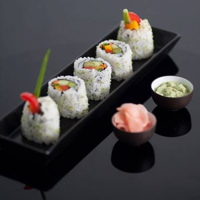 Sushi kits are available at Foodhall. You can now cook easy, exotic food in your kitchen! #Win
