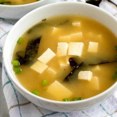 #Misosoup (made of traditional #Japanese seasoning ingredient Miso and vegetable stock) is just perfect for this cool, lazy weather.