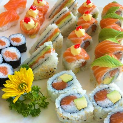Foodhall,  party,, Sushi, taste