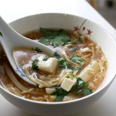 A bowl of hot and sour soup is all you need to get over the monsoon gloom and cool.