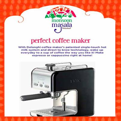 The monsoons are the perfect time to sip on a cuppa of coffee. Buy the best coffee maker from Foodhall and make coffee just the way you like it.