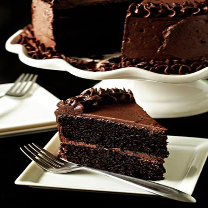 Nothing quite like a big slice of warm chocolate cake during a cool monsoon evening.