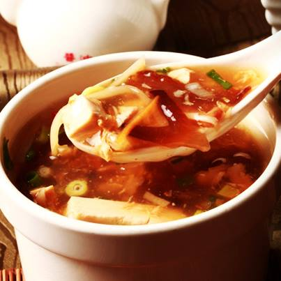 It's spicy, it's sour, and it's comforting. Hot & Sour soup for the over-worked soul. #bliss
